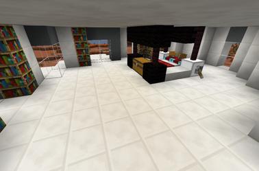 Maison Moderne Dans un Mesa