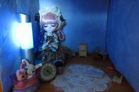 Séance photo d' Opalena dans sa nouvelle dollhouse !!