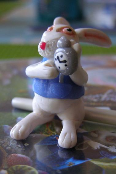 Lapin blanc (Alice in wonderland)