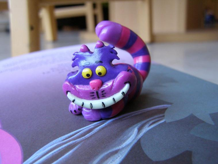 Chat de cheshire (Alice in wonderland)