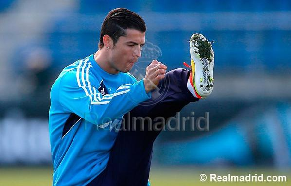 Entrainement Real Madrid ( 01-04-2013 )