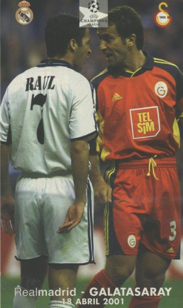 2001: Real Madrid-Galatasaray Champions quart de final