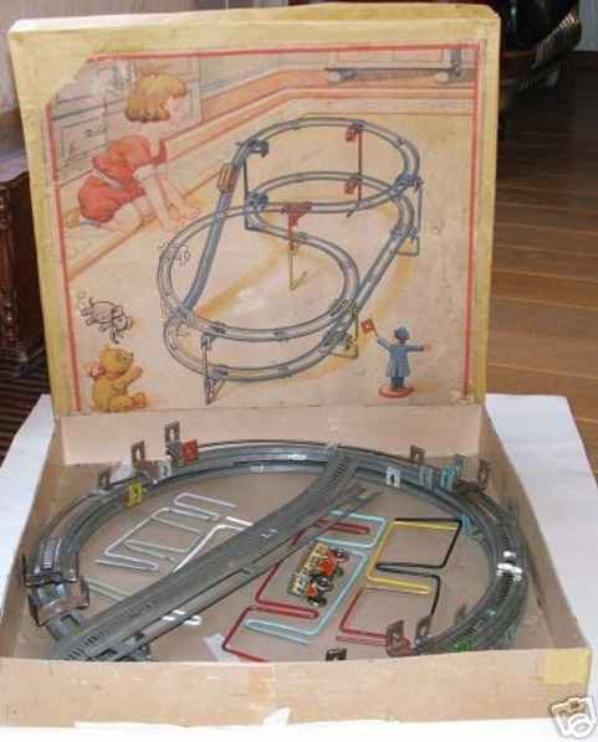 TECHNOFIX- circuit N° 221 de 1933 - Nom : chemin de fer spiral