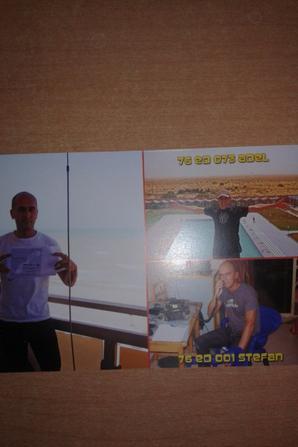CONFIRMATION QSL AVEC LA DIVISION 300 (LE SAHARA)