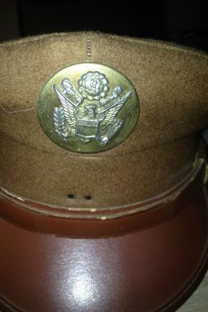 Casquette Sous Off US WW2