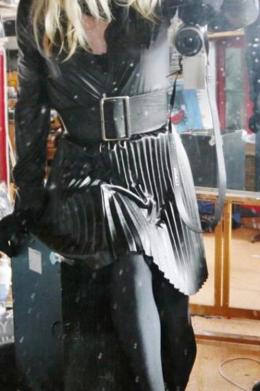 La robe de Gaël...