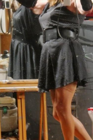 J'adore ces miroirs qui me renvoient mon image maitrisée...