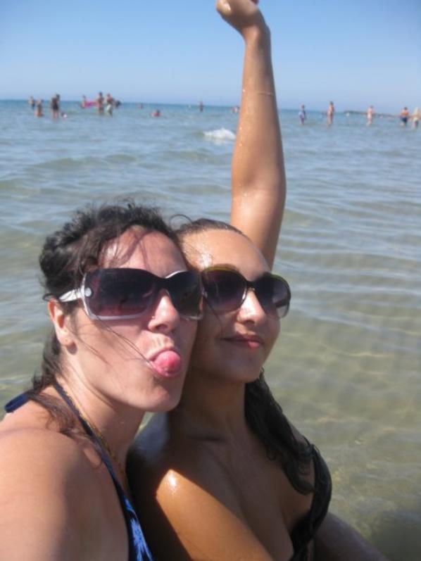 journée a Savona , plage et mer...