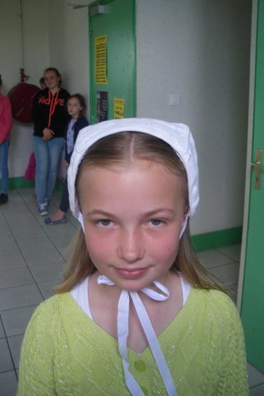 coiffure pour les filles en bonnets