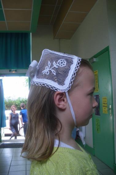 Coiffure filles en bonnets