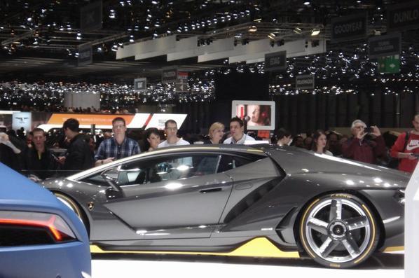 nouvelle Lamborghini centerano
