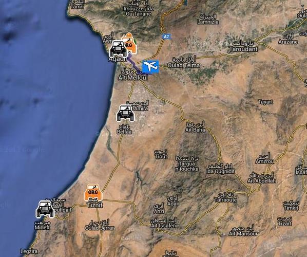 Premier message de Valou qui vient d'arriver au Maroc
