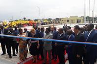 Joseph Kabila inaugure le bâtiment administratif du Gouvernement