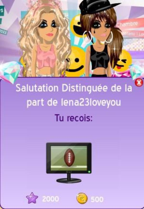 2 SALUTATIONS D'UN COUPS :o