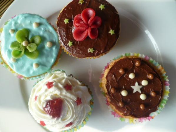 Cupcakes Home made <3