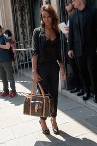 Fashion Week Shy'm au défilé Jean-Paul-Gaultier (le 4 Juillet) Partie 1