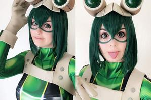 Cosplay de Froppy (Boku no Hero Academia)
