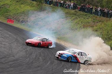 championnat de france de drift round 2 a mérignac