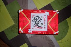boite à bijou thème chinois - vendue