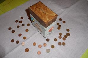 tirelire 15 euros + fdp