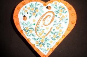 VENDU coeur initiale C