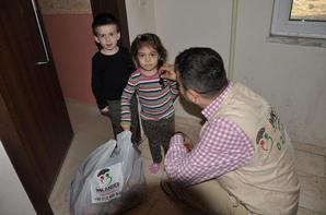 Waisenkinder-Hilfe geht weiter. Kriegsflüchtlinge aus Syrien/Kaukasus erhalten in Istanbul/Türkei Nothilfe und Unterstützung - IMKANDER