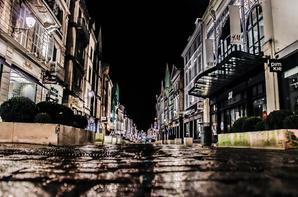 nuit sous la pluie à troyes I