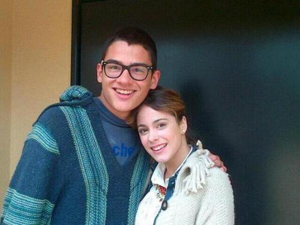 Fotos de Tini con Sants Robledo