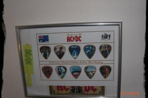 AC/DC - Picks, limited Edition, 150 exemplaires