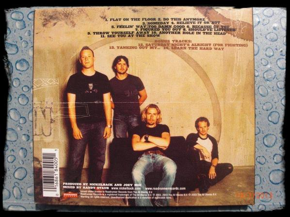 Digipack - Nickelback - The long Road