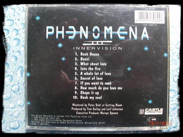 Phenomena - Phenomena III, Innervision