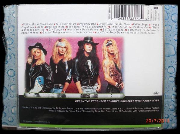 Poison - Greatest Hits 1986 à 1996