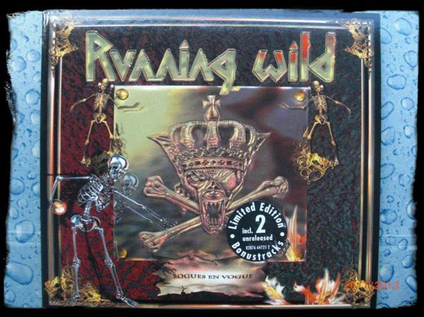 Running Wild - Rogues en Vogue, Limited Edition Digipack