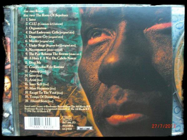 Sepultura - The Roots - 2CD + livret 24 page