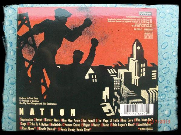 Sepultura - Nation, Digipack