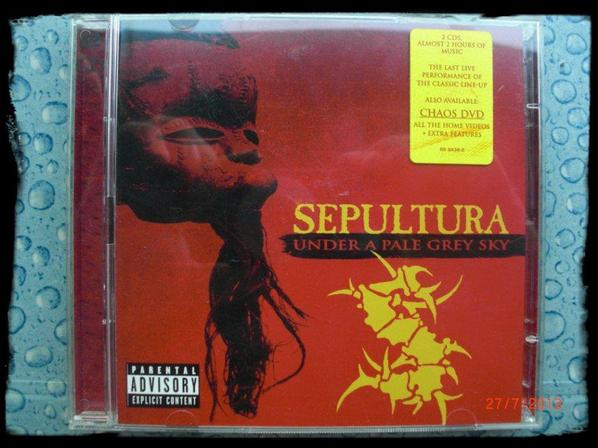 Sepultura - Under a Pale Grey Sky - 2CD