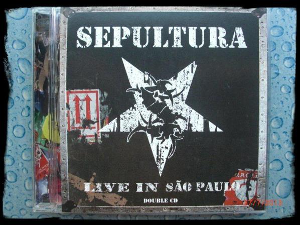 Sepultura - Live in Sao Paulo - 2CD