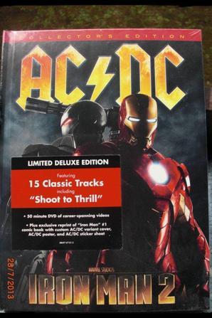 Coffret Iron Man 2 - AC/DC