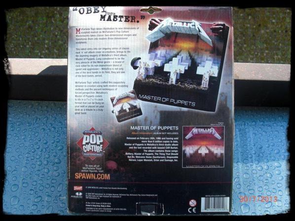 Metallica - Cadre 3D - Master of Puppets