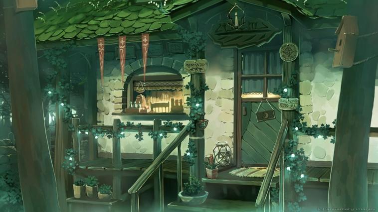 Mon petit chez moi ( dans la forêt de Beurk )