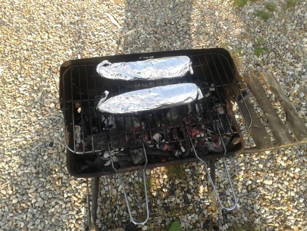 ma recette de la truite au barbecue :)