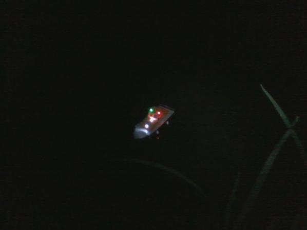navigation avec la vedette snsm de nuit :)