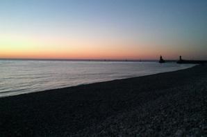 promenade a la plage ce soir ;)