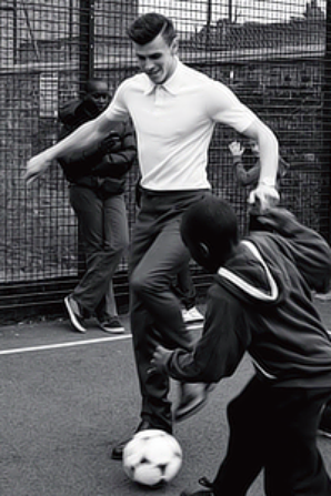 Gareth Bale Esquire UK