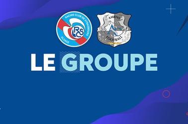 Ligue 1 Conforama : 6 ème Journée : Racing-Amiens SC : Le groupe