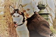 Top Modèle Homme avec son chien Pimousse  le 7/12/2018