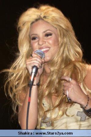 Shakira en concert