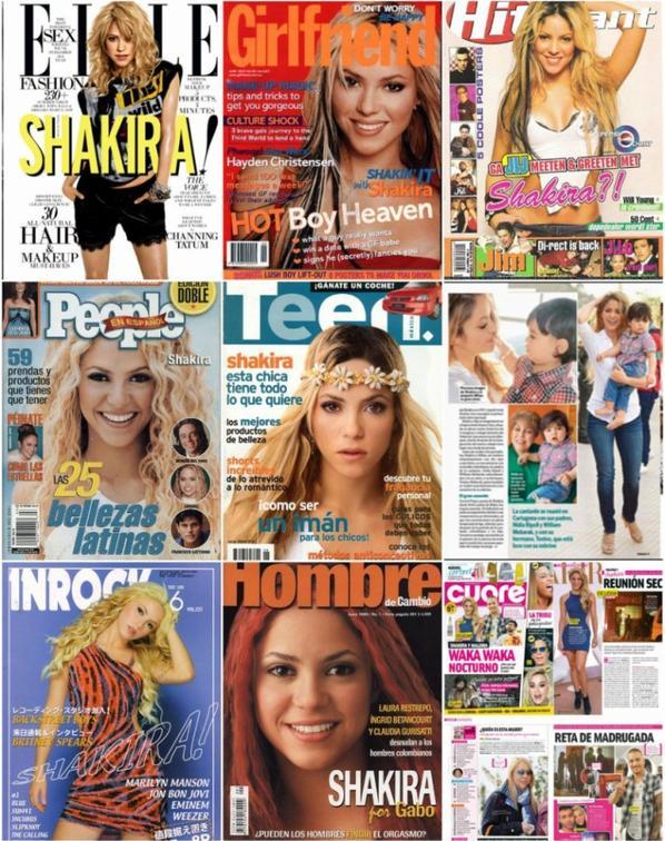 Shakira en couverture