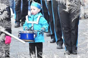 défilé a Sambreville (belgique) 1er  Avril 2013