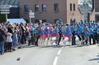 défilé a pont sur sambre le 14 Avril 2013